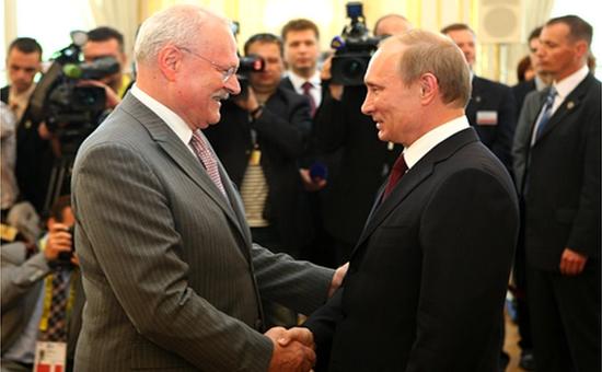 Gasparovic e Putin