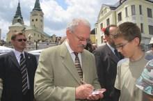 Ivan Gasparovic (foto prezident.sk)
