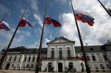 Lutto nazionale in Slovacchia, Bratislava (foto_Prezident-sk)