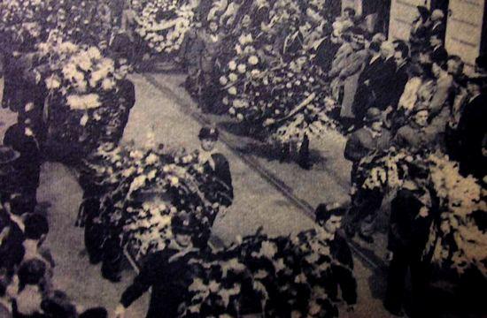 Marcinelle, i funerali