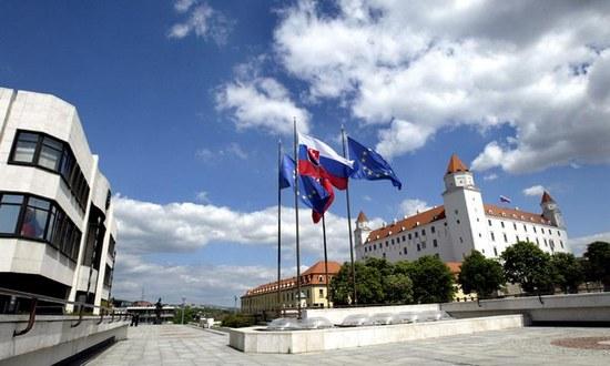 Parlamento e Castello, simboli di Stato, Repubblica Slovacca (nrsr.sk)