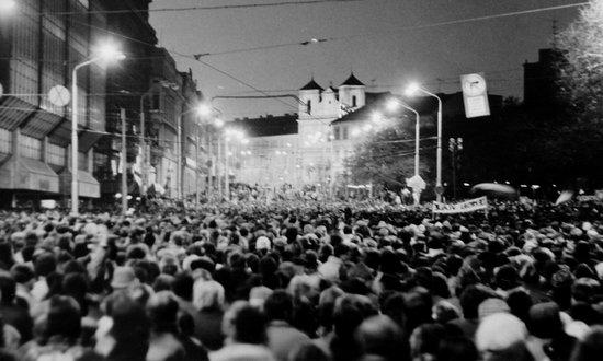 """Il 17 novembre di 27 anni fa nasceva la """"Rivoluzione di velluto"""""""