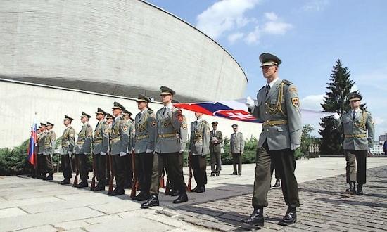 SNP, commemorazione a Banska Bystrica (foto Min-DifesaSR)