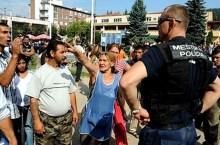 insediamento rom