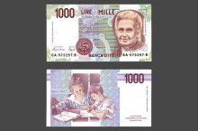 lira italiana (foto_wikipedia) lire mille