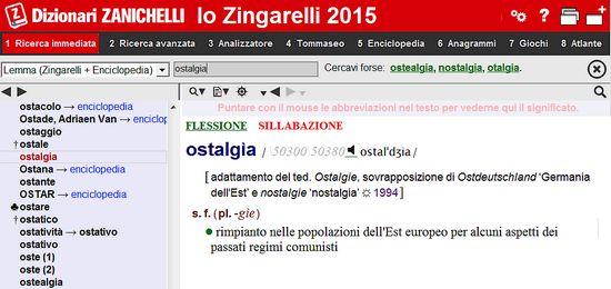 ostalgia_zanichelli