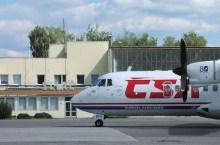 un aereo allo scalo di Sliac