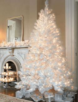 Idee e addobbi per un albero di Natale bianco  Blog Buoni
