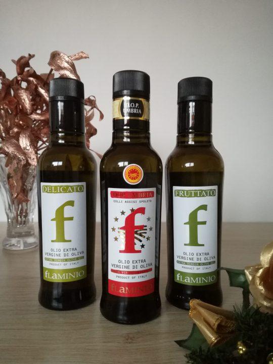 Degustační set extra panenských olivových olejů Umbria 3x250 ml