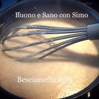 Besciamella light
