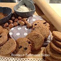 Biscotti di farina di castagne integrali senza burro