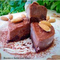 Vegan Sacher Cheesecake