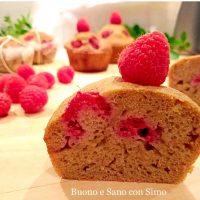 Fit Muffins ai lamponi