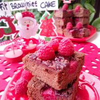 Fit Brownies Vegan