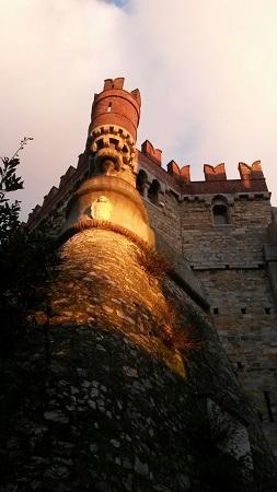 Merlatura del Castello D'Albertis di Genova
