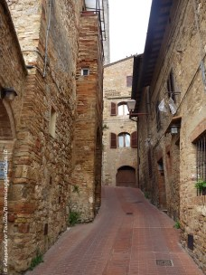 San Gimignano vicoli