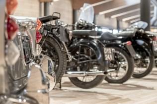 Museo Moto d'Epoca particolari di motociclette