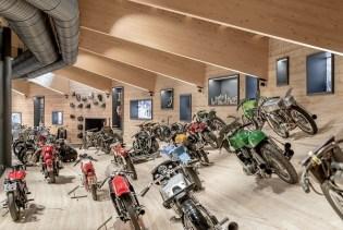 Museo Moto d'Epoca interni