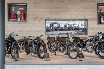 Museo Moto d'Epoca alcune moto
