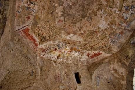 Particolare antico Castello di Montalbano Elicona
