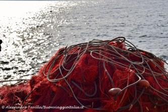 Alicudi rete da pesca