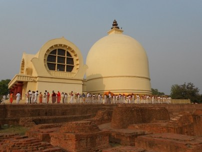 Tempio e stupa di Kushinagar