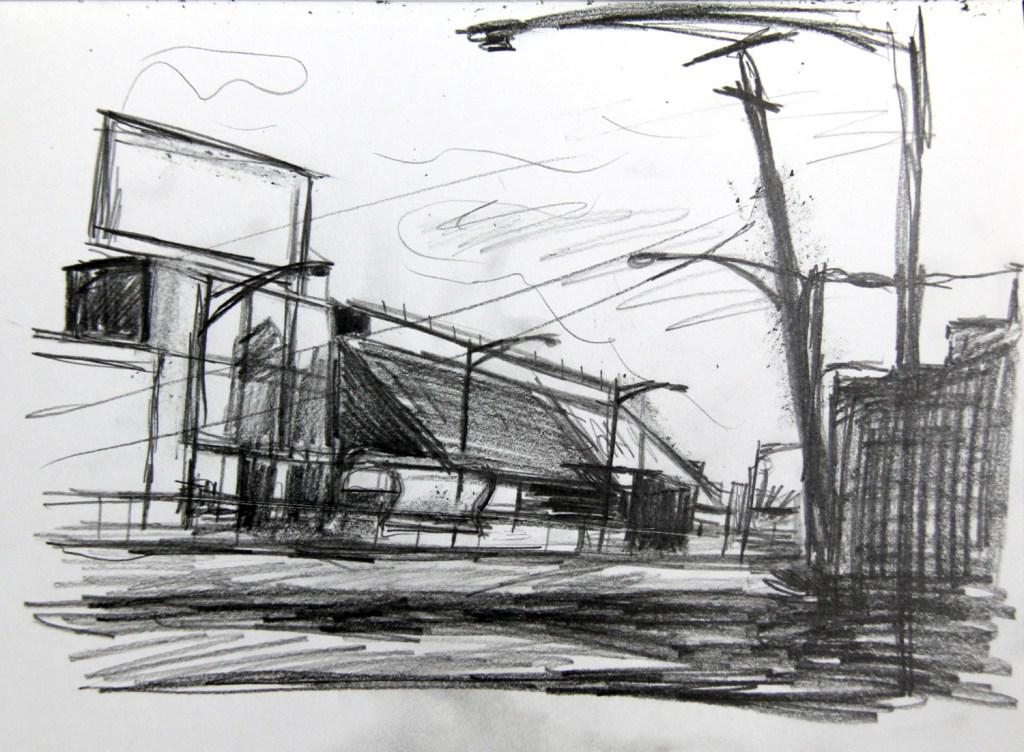Morton Salt drawing study
