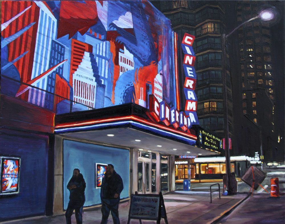 Cinerama at Night