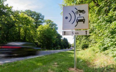 Suspension de permis suite à un excès de vitesse