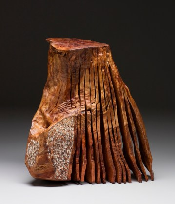 """17"""" x 16"""" x 9"""" Madrone Root 2015"""