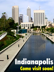 Come visit Indy soon!