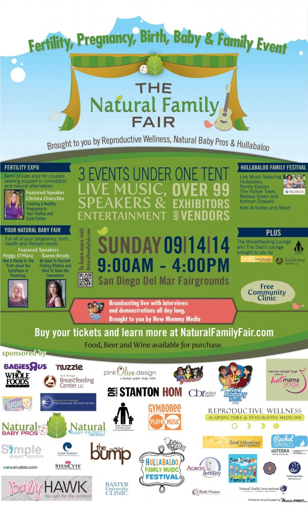 Natural Family Fair Ticket Giveaway