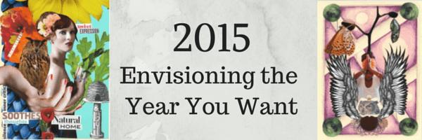 make a vision board for 2015