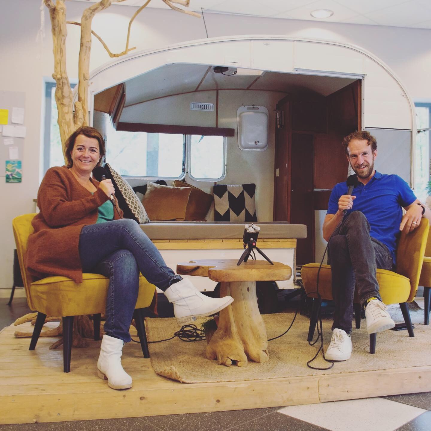 podcast kennemer duin campings feestmodel
