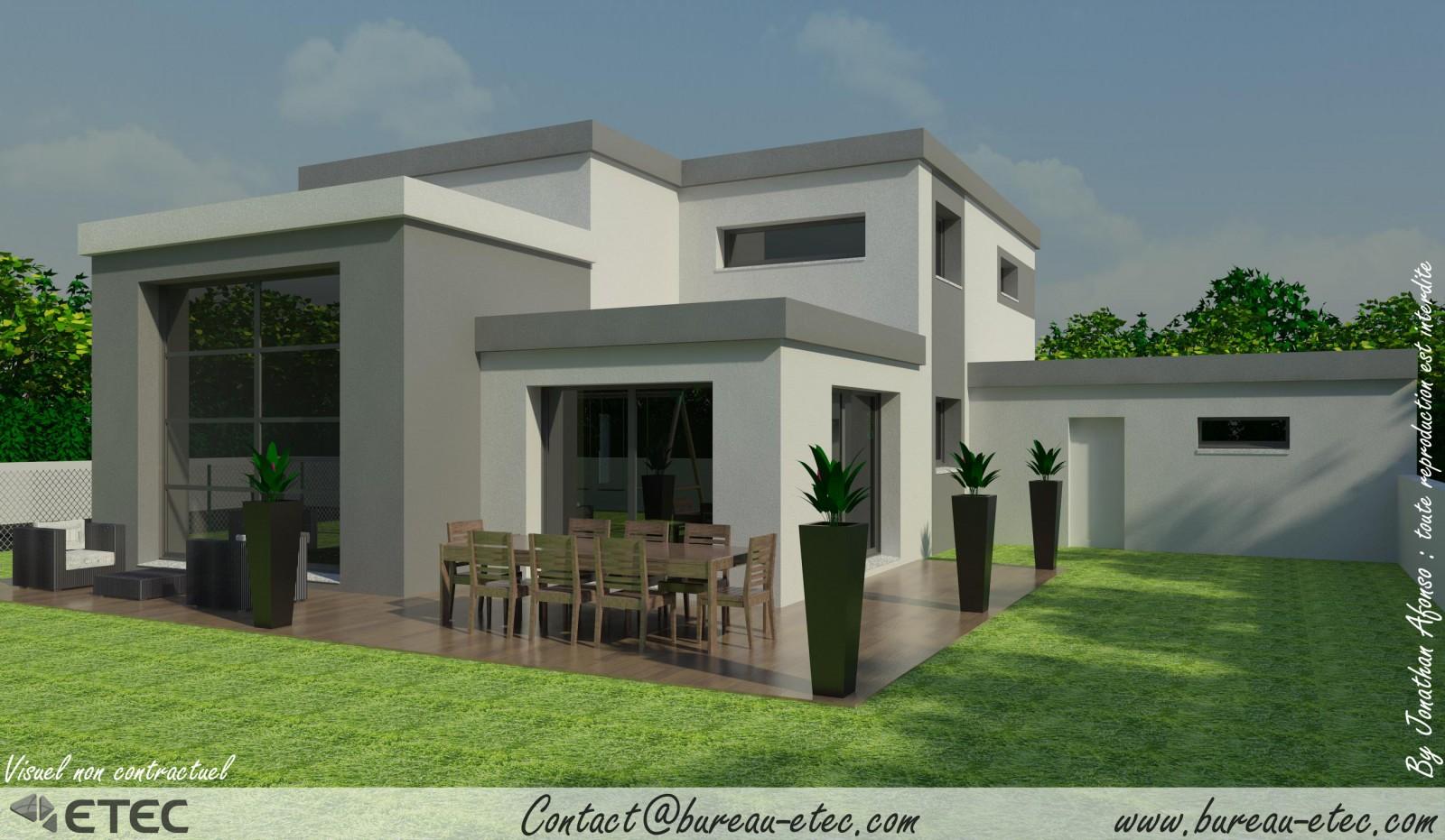 plan maison toit plat gratuit elegant plan maison plain pied m votre avis messages with plan. Black Bedroom Furniture Sets. Home Design Ideas