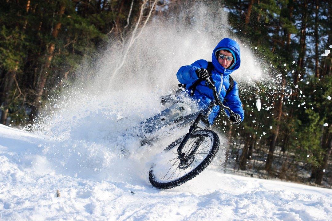 Balade en VAE sur neige