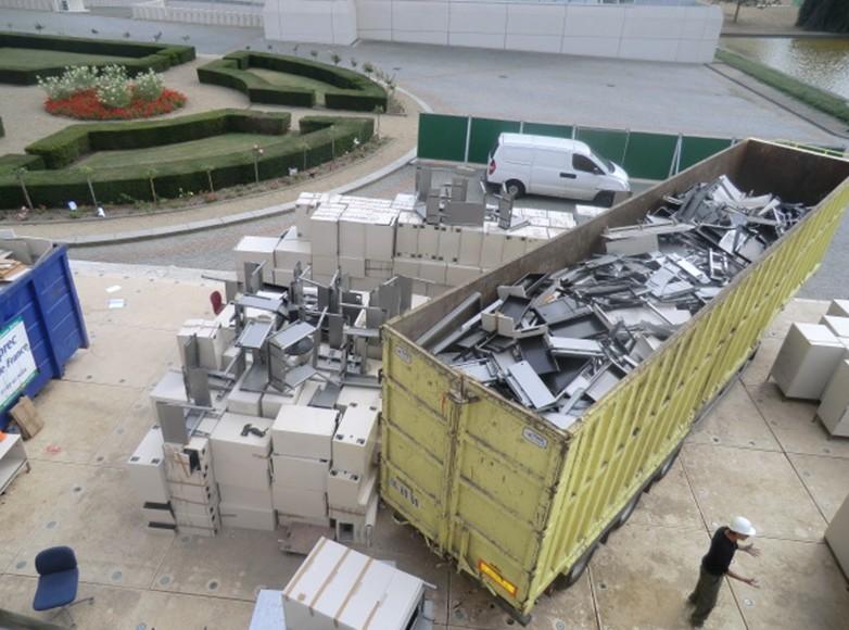 recyclage mobilier bureau