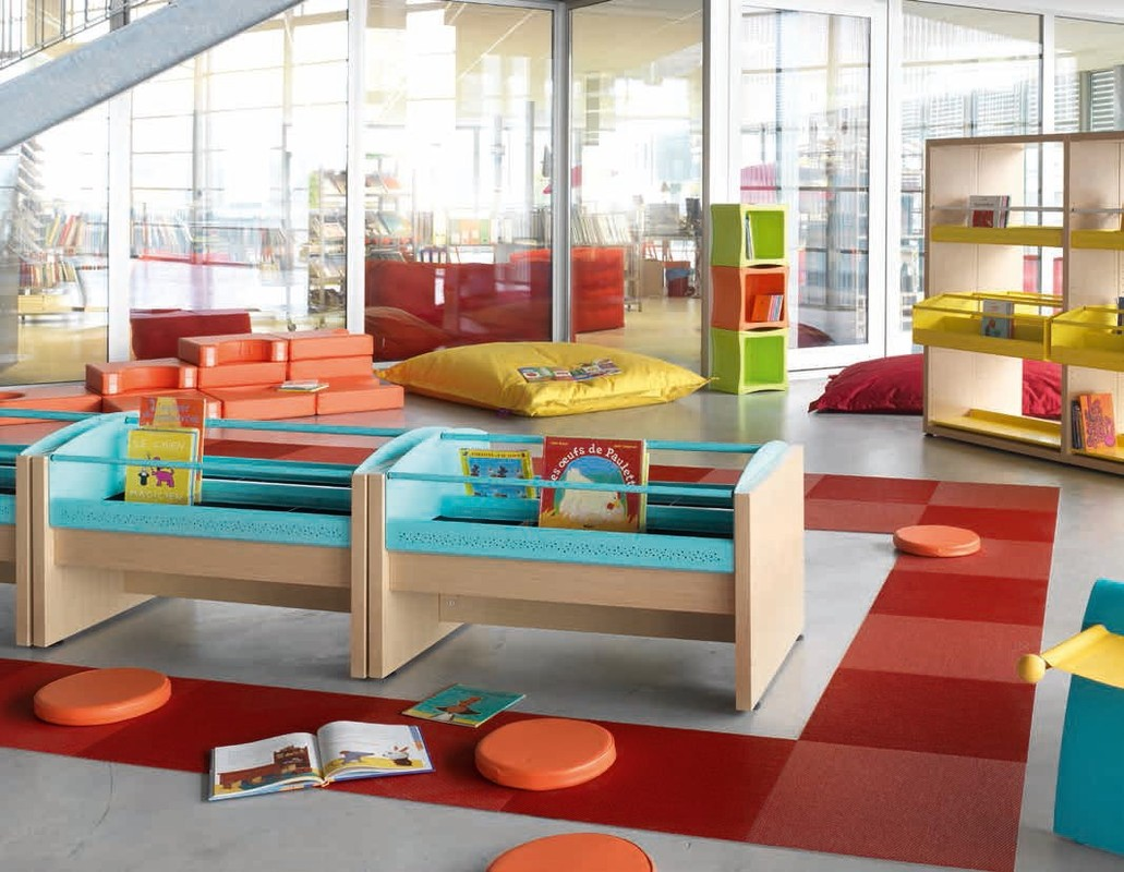mobilier mediatheque et bibliotheque