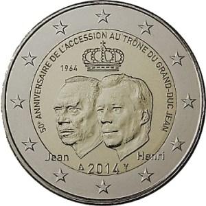 2 euros commémorative - Duc Grand Jean
