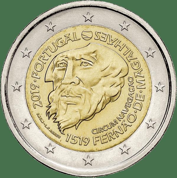 2 euros portugal magellan 2019 tour du monde