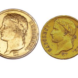 Coffret or Napoléon Bonaparte pièces