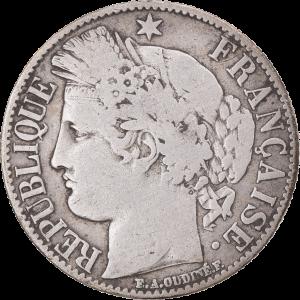 1 franc troisième république