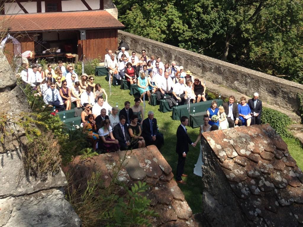 Hochzeit  Burg Colmberg