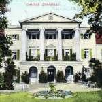Schloss Löbichau, Ansichtskarte von 1904 (Museum Burg Posterstein)