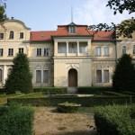 Schloss Tannenfeld, leer stehend im Sommer 2012