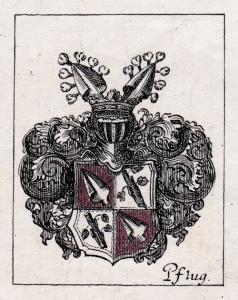 Wappen der Familie Pflugk (Museum Burg Posterstein)