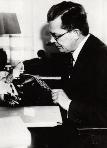 The author Hans Fallada often worked until he was completely exhausted