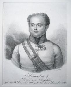 Der russische Zar Alexander I. war der wohl berühmteste Gast in Löbichau.
