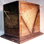 Blocksonnenuhr aus dem 17. Jahrhundert (Museum Burg Posterstein) - Mehr dazu im Blog http://burgposterstein.wordpress.com/