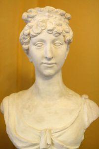 Büste Anna Dorothea von Kurland nach Canova (Museum Burg Posterstein)